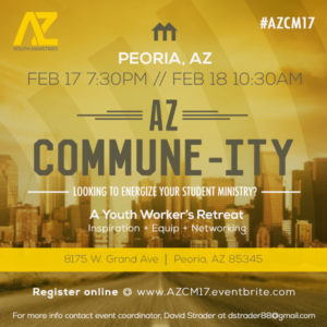AZ Commune-ity 2017 Flyer